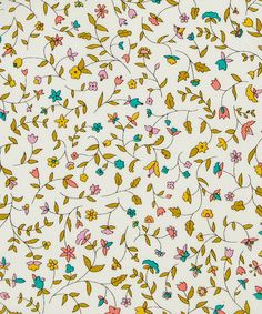 Liberty Art Fabrics Cathy D Tana Lawn Cotton | Fabric | Liberty.co.uk