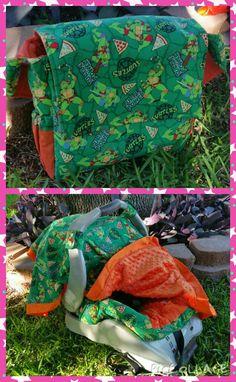 TMNT Teenage Mutant Ninja Turtles DiaperBag and by ShaysStore