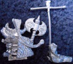 1993 Dwarf Ungrim Ironfist Slayer King Games Workshop Warhammer Army Norse AD&D   eBay