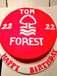 Notts Forest Cake...