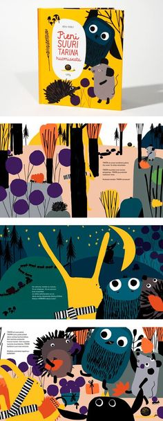 Little Big Story of Tomorrow - RÉKA KIRÁLY / graphic design and illustration: