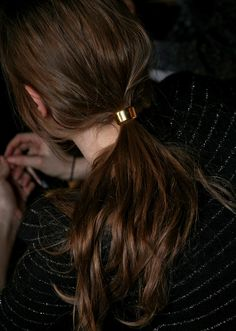 backstage @ dries van noten F/W 2011