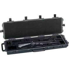 Pelican Mobile Armory Injection-molded Pre-cut M16 Storage Case