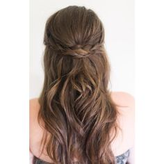 13 Simple Braided Hairstyles for Beginners ❤ liked on Polyvore featuring home, home decor and french home decor
