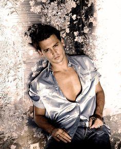 Young Johnny Depp, Here's Johnny, Hot Actors, Actors & Actresses, Jonh Deep, Johnny Depp Leonardo Dicaprio, Johnny Depp Wallpaper, 21 Jump Street, Movies