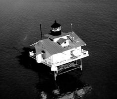 Great Shoals Lighthouse (dismantled 1966)