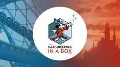 Enjoy a One-of-a-Kind Learning Experience from Disney Imagineers - Imagineering in a Box is a series of interactive lessons in theme park design and engineering, desi - Disney Theme, Disney Fun, Disney Magic, Disney Rides, Disney Movies, Disney World News, Disney Parks Blog, Khan Academy, Box Academy