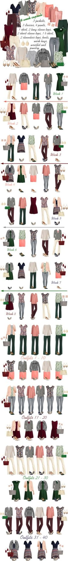 Summer/Fall 8-week Capsule by kristin727 on Polyvore featuring Lands' End, Canvas by Lands' End, J.Crew, Dooney & Bourke, Lauren Ralph Lauren, Brooks Brothers, Kate Spade, L.L.Bean, Nine West and Kendra Scott