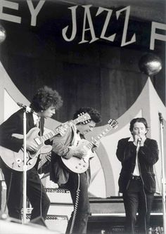 The Butterfield Blues Band. L to R: Elvin Bishop, Mike Bloomfield, Paul Butterfield.