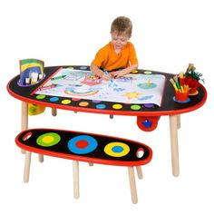 Super Art Table With Paper Roll - ALEX Toys -