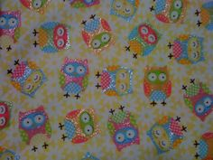 glitter flannel Owl Fabric, Flannel, Kids Rugs, Glitter, Unique Jewelry, Handmade Gifts, Etsy, Vintage, Kid Craft Gifts
