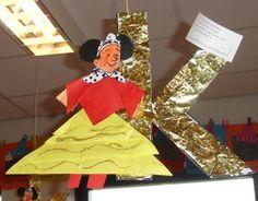 De koningin met de gouden K - Juf Joyce
