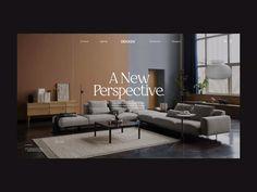 Dekken by Matt Sage for Yoyo Website Design Inspiration, Website Design Layout, Web Layout, Layout Design, Modern Web Design, Ux Design, Pag Web, Interior Design Companies, Motion Design