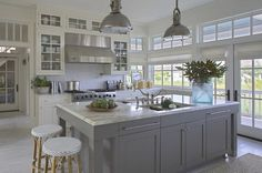 Brilliant kitchen features Chart House 1 Light Country Industrial Pendants in…
