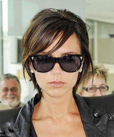 Victoria beckham short hair styles