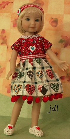 "Heartstring Grace 8"" Dinna Effner Doll by JDL Doll Clothes"