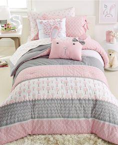 Frank And Lulu Heartwood Forest 3-Pc. Comforter Set - Kids' Bedding - Bed & Bath - Macy's