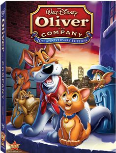 Oliver and Company- Second Favorite Disney Movie but it reminds me of Helen so I don't watch it.