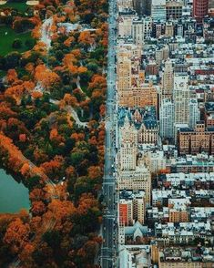 travel destinations aesthetic People Drone Photography : The hard line between the city and nature should be further explored to form a symbiosis amid healthy life and urban development. Empire State Building, City Photography, Drone Photography, People Photography, Building Photography, Landscape Photography, Magic Places, Places To Visit, Fotografia Drone