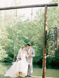 rustic swing   CHECK OUT MORE IDEAS AT WEDDINGPINS.NET   #weddings #weddinginspiration #inspirational