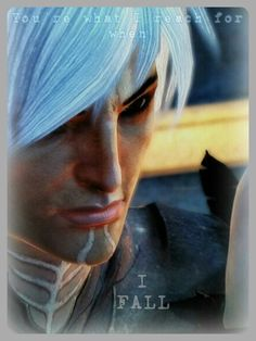 Falling. Fenris and Hawke Dragon Age 2.