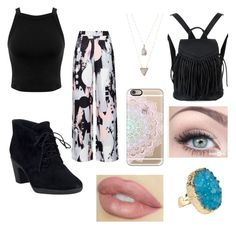 """""""Lovin it"""" by hayden-neuman on Polyvore featuring Miss Selfridge, Clarks, Panacea, Casetify, WithChic and Helix & Felix"""