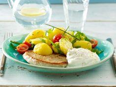 Gesundes Mittagessen - Rezepte aus der Vitalküche - bunter-kartoffelsalat  Rezept