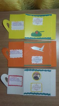 Наши подарки к 23 февраля— «Открытка-кружка». Воспитателям детских садов, школьным учителям и педагогам - Маам.ру Mothers, Tags, Mailing Labels