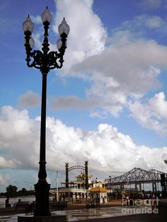 New Orleans Riverwalk. I spent a whole day once getting drunk sitting by the river. One of my Top 10 Life Moments.
