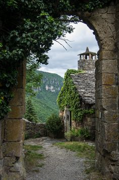 ~~St-Véran Archway, Midi-Pyrenees, France by Bobrad~~