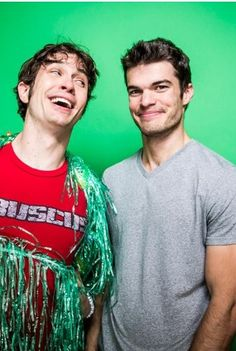 Toby Turner A.K.A Tobuscus and Gabe Hohreiter A.K.A Gabuscus <3 <--- no, it's gabe-uscus, there's a pause there