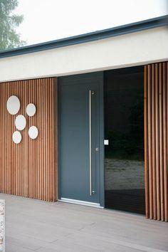 Haus Türen Josko aluminium holz werkstoffe modernes design