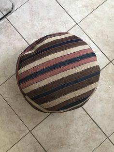 FREE SHIPPING 20x 20x 8 Pouf Wool Turkish