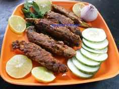 Hot and spicy Geetha's kitchen..: Karli fry (Maharastrian style)