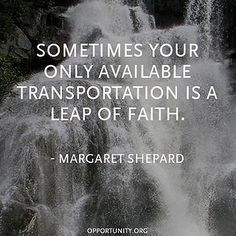 This reminded me of a sweet friend who took the leap of faith to quit her job so she could focus on full-time nursing school. So glad to have her by my side thru this process. Great Quotes, Quotes To Live By, Inspirational Quotes, Motivational, Fabulous Quotes, Awesome Quotes, Quotable Quotes, Funny Quotes, Random Quotes