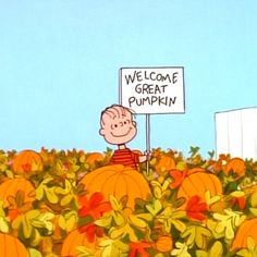 Welcome, Great Pumpkin!