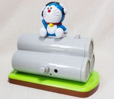 Draemon Clay Pipe USB Stereo Speaker Taito JAPAN ANIME MANGA