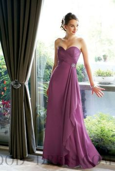Remarkable A-line Sweetheart Beading Chiffon Bridesmaid Dresses