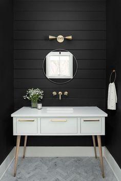 Small Bathroom Interior Design, Bathroom Vanities Etsy even Bathroom Remodel Affordable until Bathroom Ideas Jungle Shiplap Bathroom, Bathroom Floor Tiles, Bathroom Wallpaper, Bathroom Colors, White Bathroom, Modern Bathroom, Small Bathroom, Bathroom Ideas, Lavender Bathroom