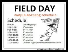 Planning Field Day in preschool | The SEEDS Network