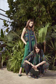 #Sisley #Sisleyfashion #SS2017 #woman #collection #fashion #trend #green #flower