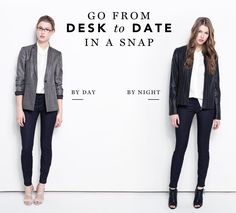 Easy Transition: Take Your 9-to-5 Outfit Into Post-Work Territory