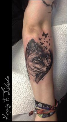 Tattoo-Foto: Fuchs