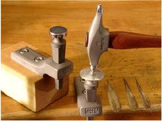"""Over the years, Bill Fretz has attended many trade shows and demonstrated all the different Fretz hammers and their uses. At those shows, he's answered the question, """"What's this one used for?"""" countless times. In this post, Bill outlines how his enormously popular planishing, raising, and embossing hammers can be used for terrific results..."""