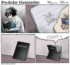 Pedido Estranho L Death Note, Death Note Fanart, Death Note Funny, Animes Wallpapers, Itachi, Naruto, Potato Chip, Manga Anime, Shinigami