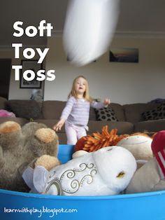 Soft toy toss