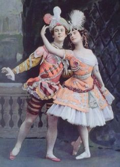 Nijinsky and Anna Pavlova, Ballets Russe.
