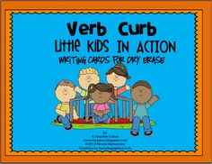 A Teacher's Idea: READING Resources-Here is an opportunity for your kids to write and spell verbs that are common to them. Each card can give so many verbs that it is easy for kids to use. The graphics paint a wonderful picture of the things that kids do on a daily basis both at school and at home.For great results from my product you need to print, laminate and cut these cards. Students will use dry erase markers for writing on them. This is definitely a great addition to any literacy…
