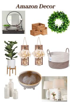 Find Amazon, Amazon Home, Wreath Crafts, Beautiful Kitchens, Amazing Flowers, Your Space, Towels, Organize, Bathrooms
