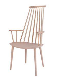 Cadeira J110, Natural